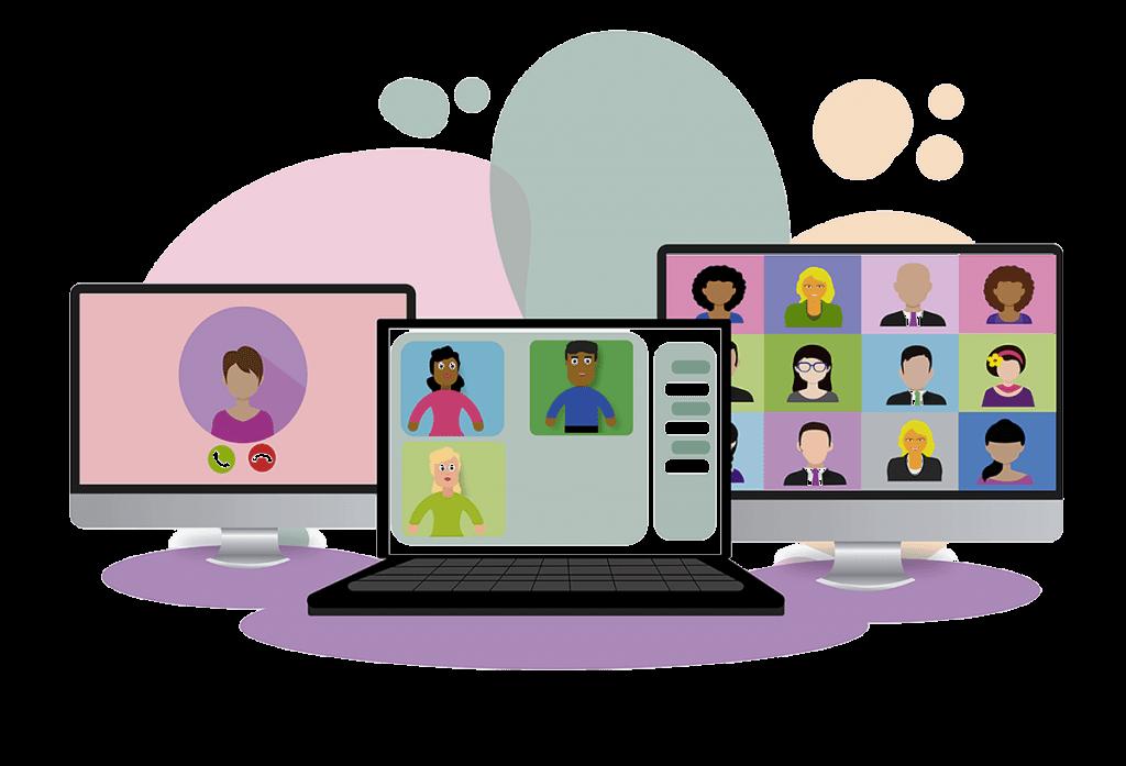 Videokonferenzen - Online-Meeting